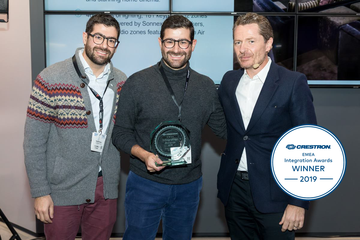 Winner: Crestron Integration Awards 2019